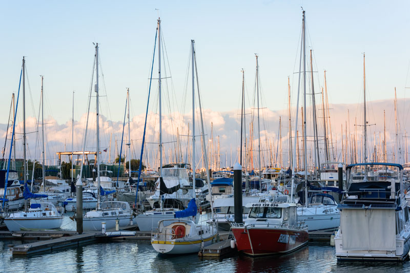 A marina filled with boats in Jacksonville